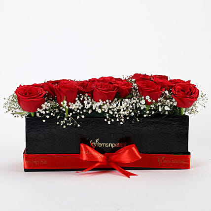 Red Roses Online Bunch Of Flower