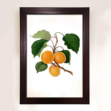 Vibrant Oranges Illustration Painting
