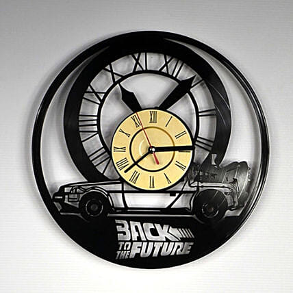 Vinyl Record Wall Clock Back To The Future:New Arrival-gifts for Him
