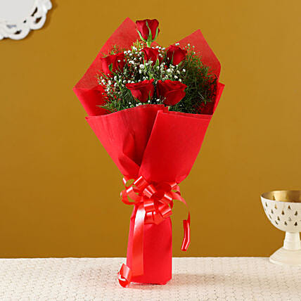 Online Buy Red Roses Bouquet