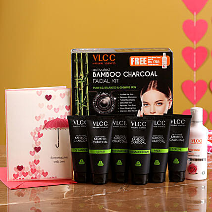 VLCC Bamboo Charcoal Kit And Love Card