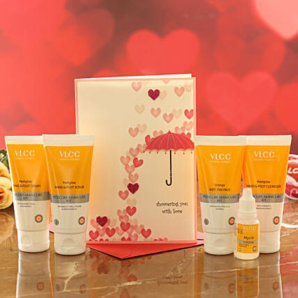 VLCC Hand And Foot Care Kit With Love Card:Shop By Brands