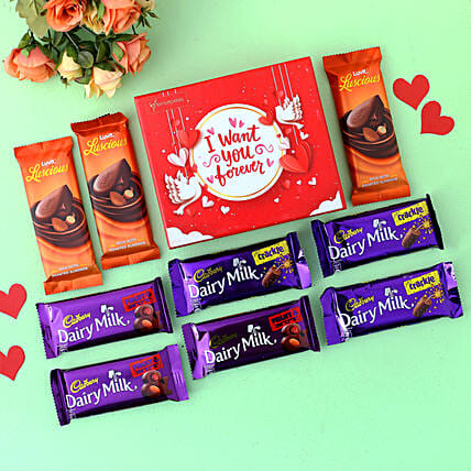 Want You Forever Tempting Chocolates Box