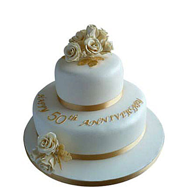 Wedding cake 5kg Eggless