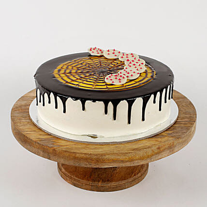 Delicious Choco coin cream cake