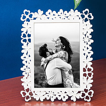 designer rectangular photo frame:Send Personalised Photo Frames for Anniversary