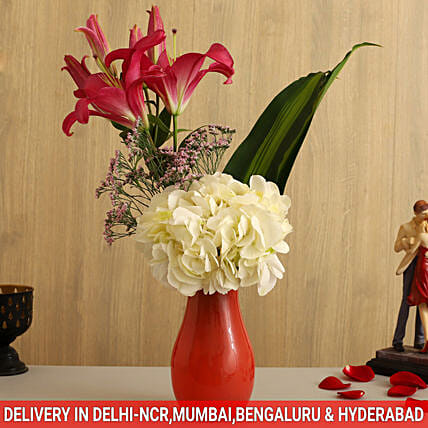 online home décor flower arrangement