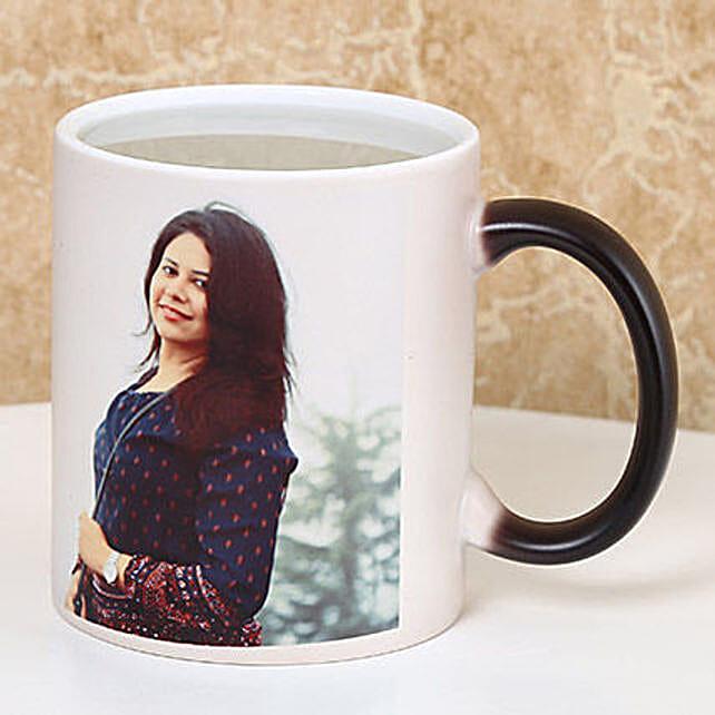photo printed white mug online