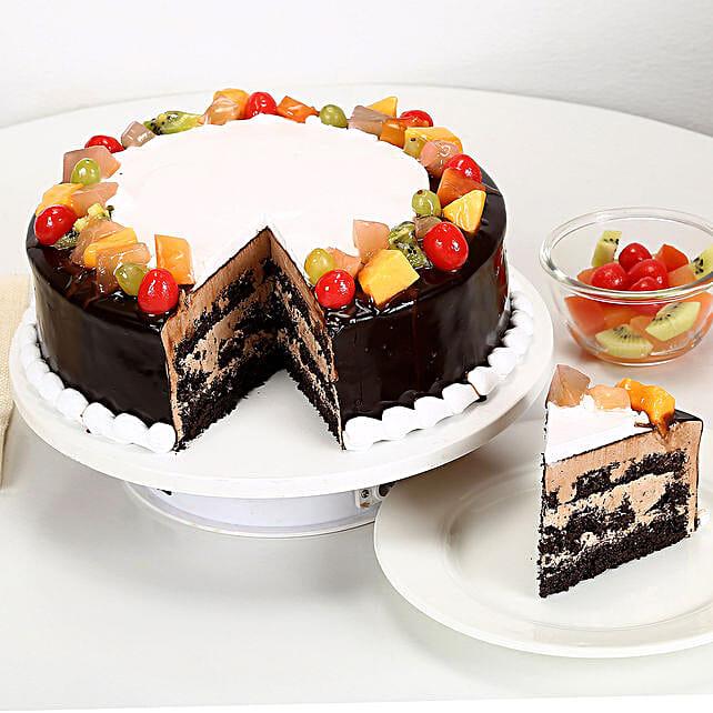 Wild Forest Cake Half kg Eggless