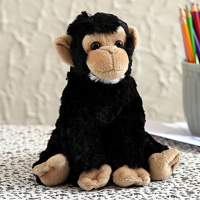 Wild Republic Black Baby Chimpanzee Soft Toy