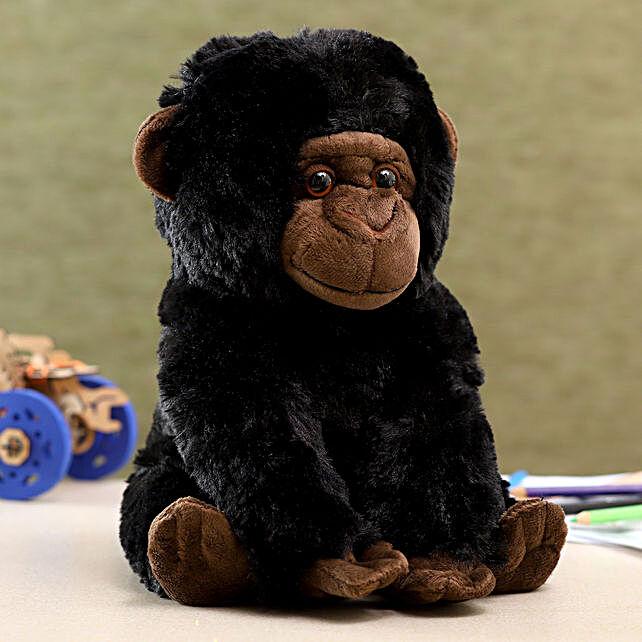 Wild Republic Black Baby Gorilla Soft Toy
