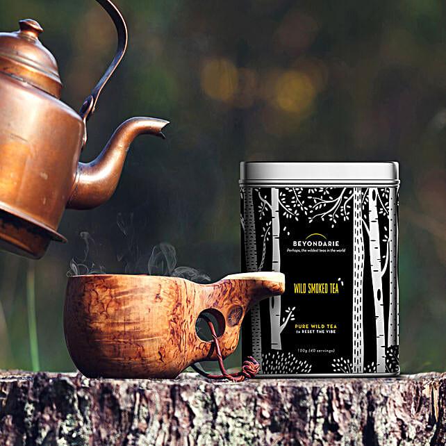 Wild Tribe Smoked Tea 100 gms:Tea Gift Hampers