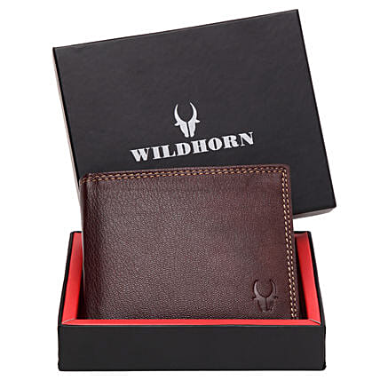 Wildhorn Brown Leather Wallet