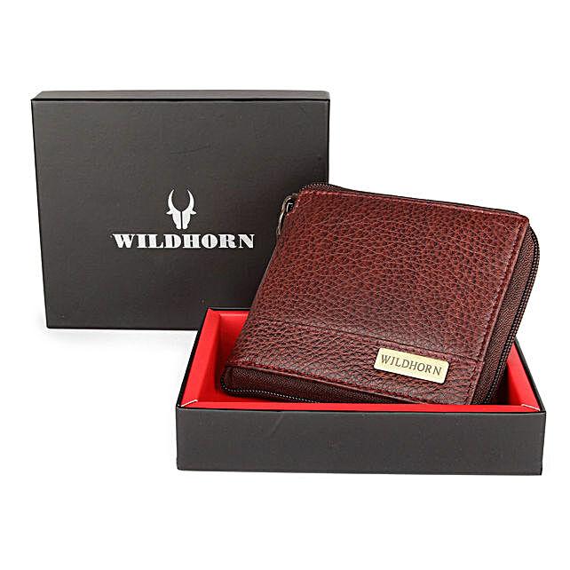 Wildhorn Premium Leather Wallet Brown
