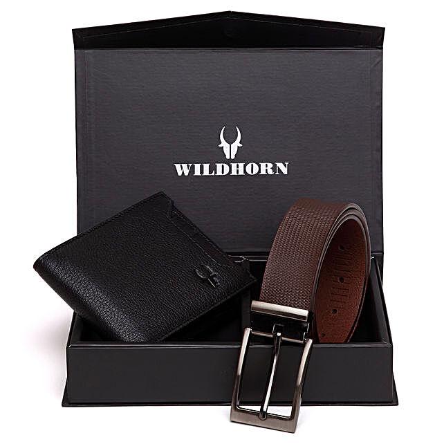 Wildhorn Stylish Men Wallet Combo Brown