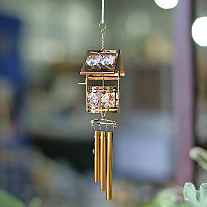 Swarovski Crystal Wind Chime:Housewarming Gift Ideas