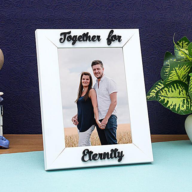 WISHTANK Personalised Together For Eternity Photo Frame