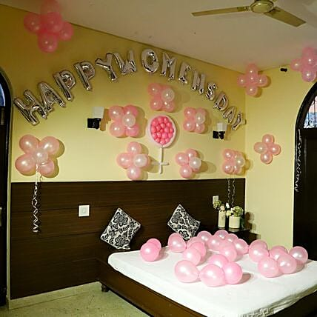 Women's Day Balloon decoration
