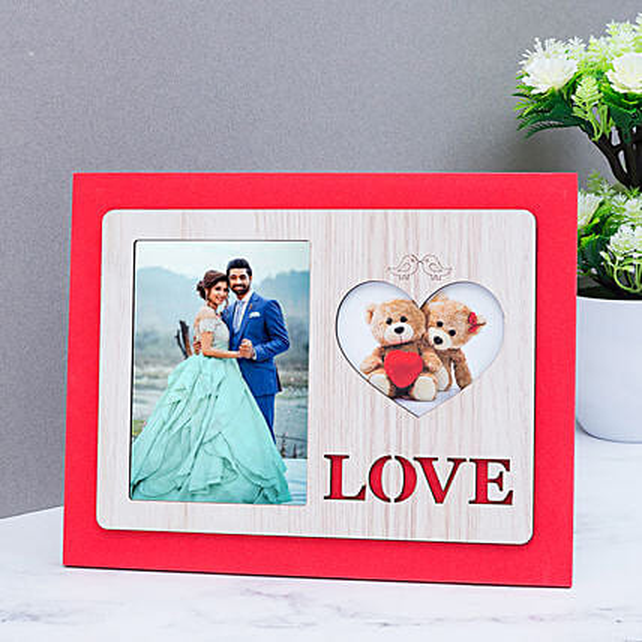 online wooden photo frame:Wedding Personalised Photo Frames