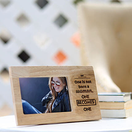 Wooden Photo Frame For Her