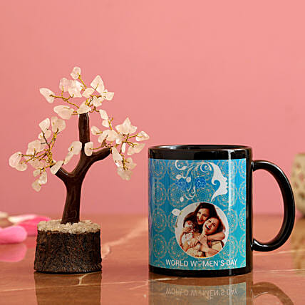 World Women s Day Personalised Mug Wish Tree Hand Delivery