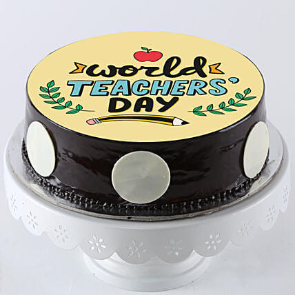 best teachers day printed photo cake online