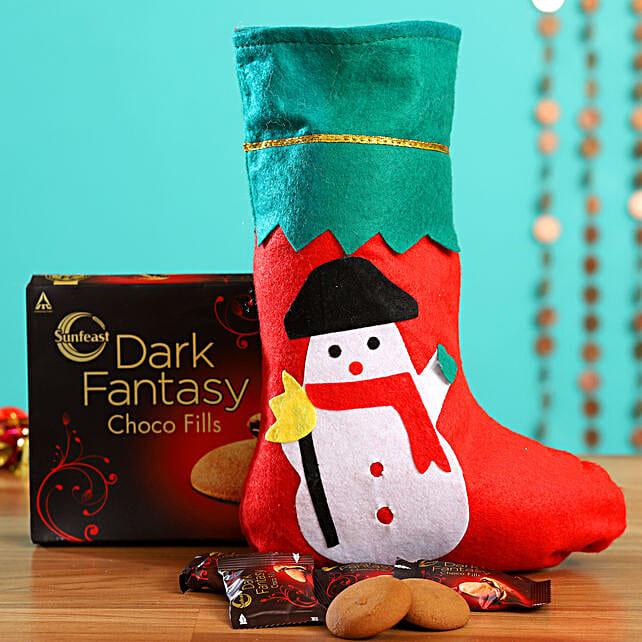 Xman Snowman Stocking With Dark Fantasy Pack