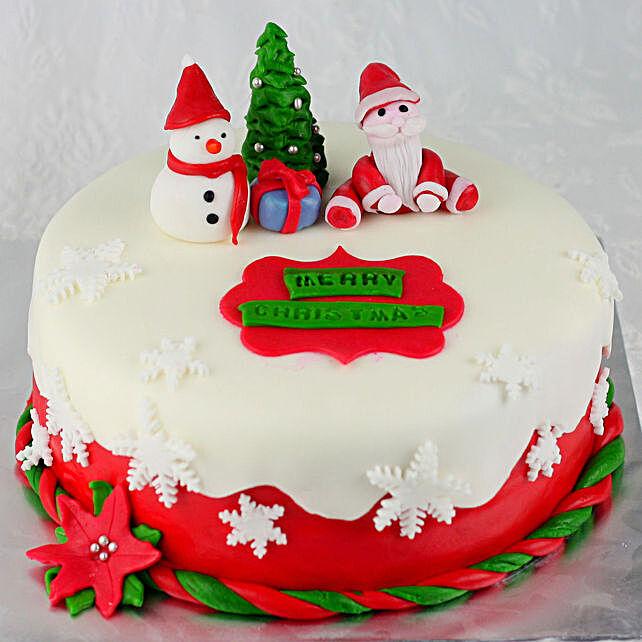 Truffle Cake for Christmas