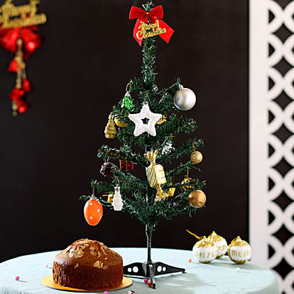 Artificial Christmas Tree and Cake Online