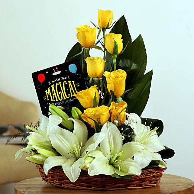 Online  Lilies Arrangement
