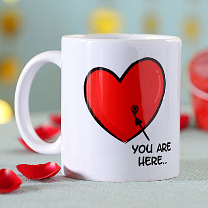 Online You Are Here Mug