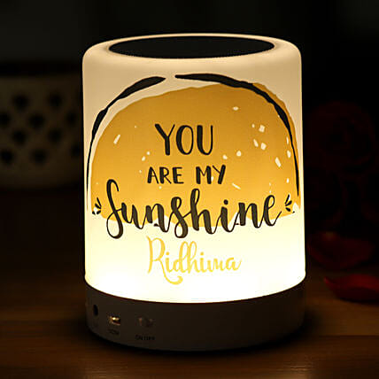You Are My Sunshine Personalised LED BT Speaker