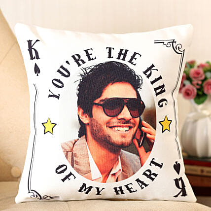 printed cushion for him