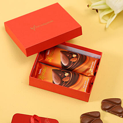 exclusive chocolate in red box online:Luvit Chocolates