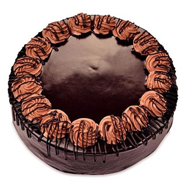 Yummy Special Chocolate Rambo Cake Half kg Eggless
