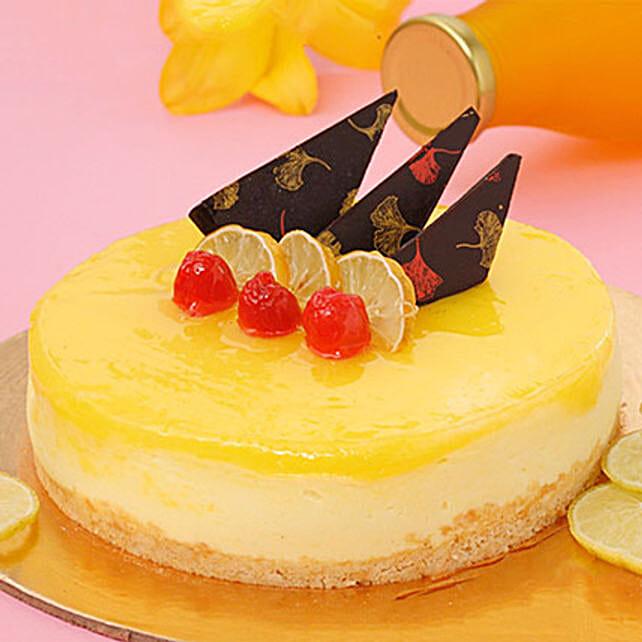 Zesty Lemon Cheesecake Half KG