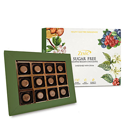 Zevic Sugar Free Peanut Butter Chocolates Pack