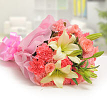 Ravishing Mixed Flowers Bouquet