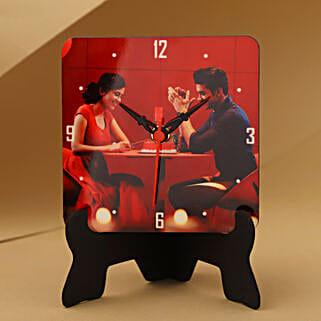 Unique Personalized Table Clock