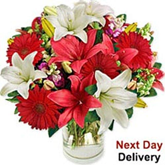 Festive Lilies mac