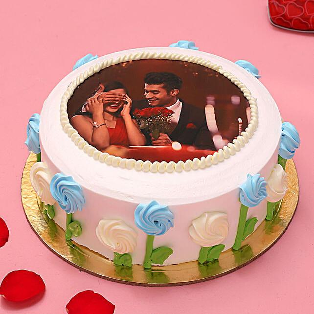 Affection Photo Chocolate Cake 1.5 Kg