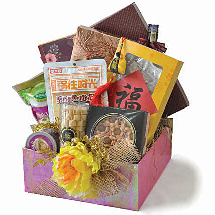 Blessed Happiness Oriental Hamper
