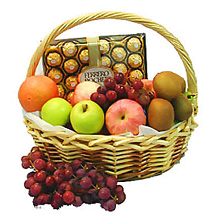 Energetic Fruit Basket:Send Romantic Gifts to Malaysia