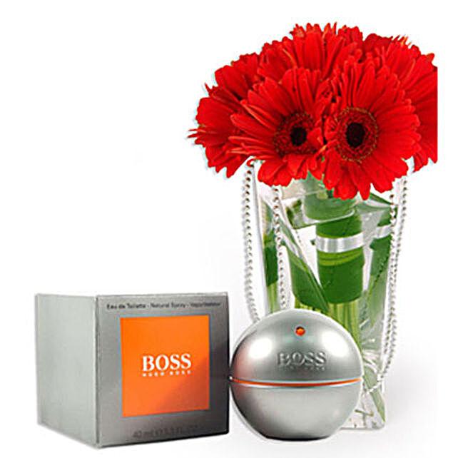 Hugo Boss With Flowers