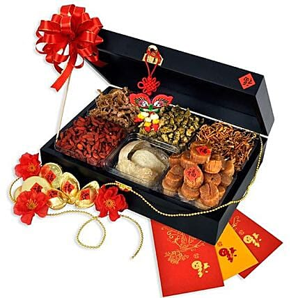 Oriental Gift Hamper For Cny:Send Chinese New Year Gifts to Malaysia