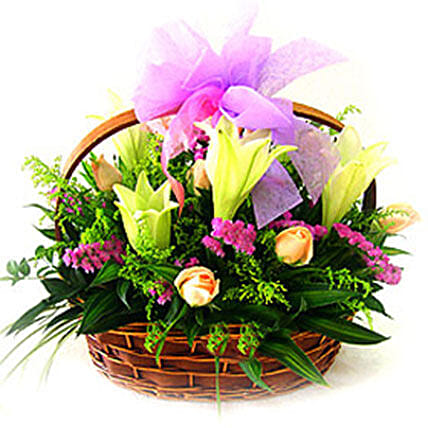 Romantic Basket:Send Fathers Day Gifts to Malaysia