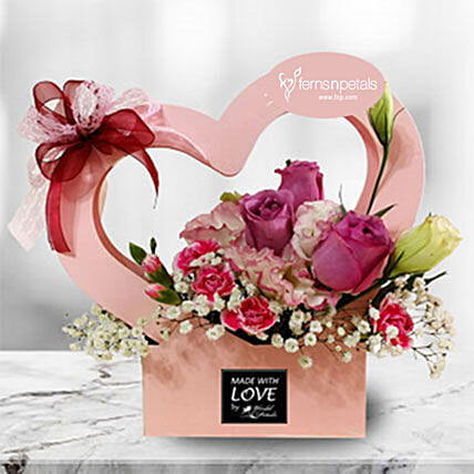 Spring Love Flower Box