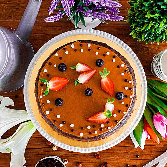 Tempting Hazelnut Chocolate Crepe Cake