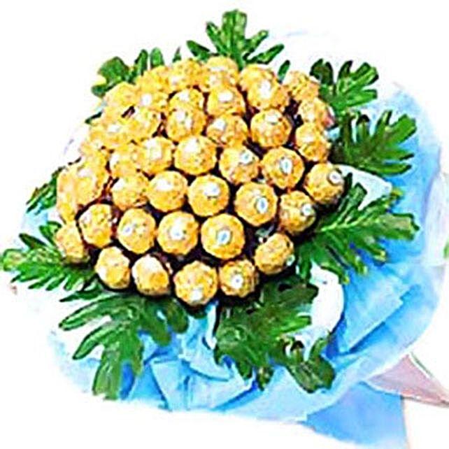 Golden Happiness Bouquet