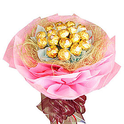 Nest Of Ferrero Rocher:Friendship Day Gifts Delivery In Malaysia